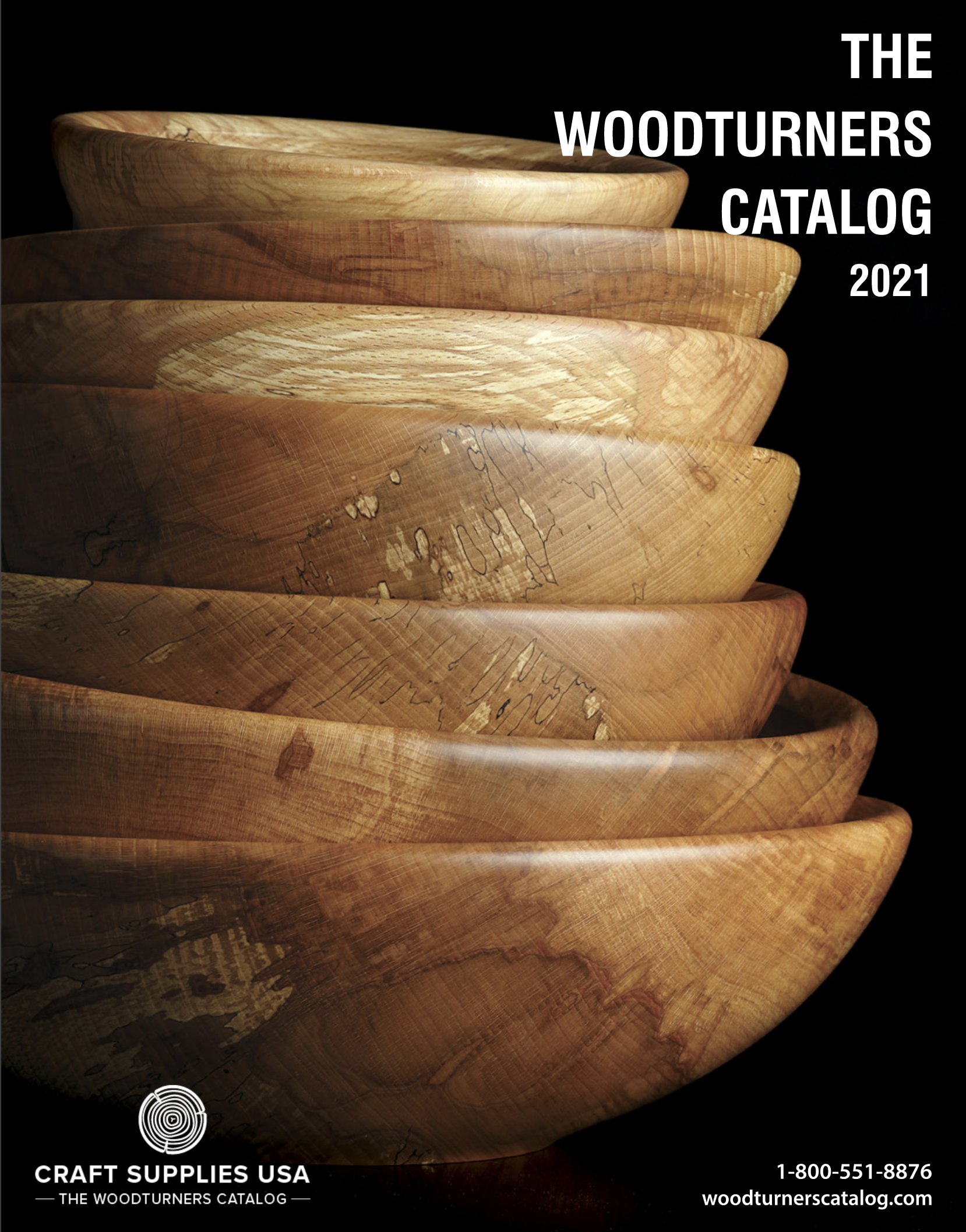Cover of Crafts Supplies USA 'Woodturners Catalog'
